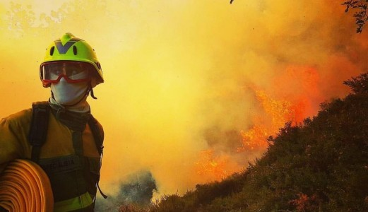 Wildland fires contaminants and their effects on the skin