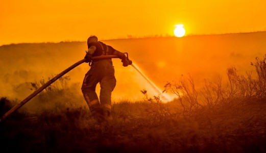 2020, the UK's unprecedented fire season