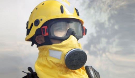 Respiratory protective equipment for wildland fires